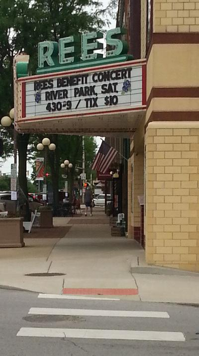 Rees Theater marquee