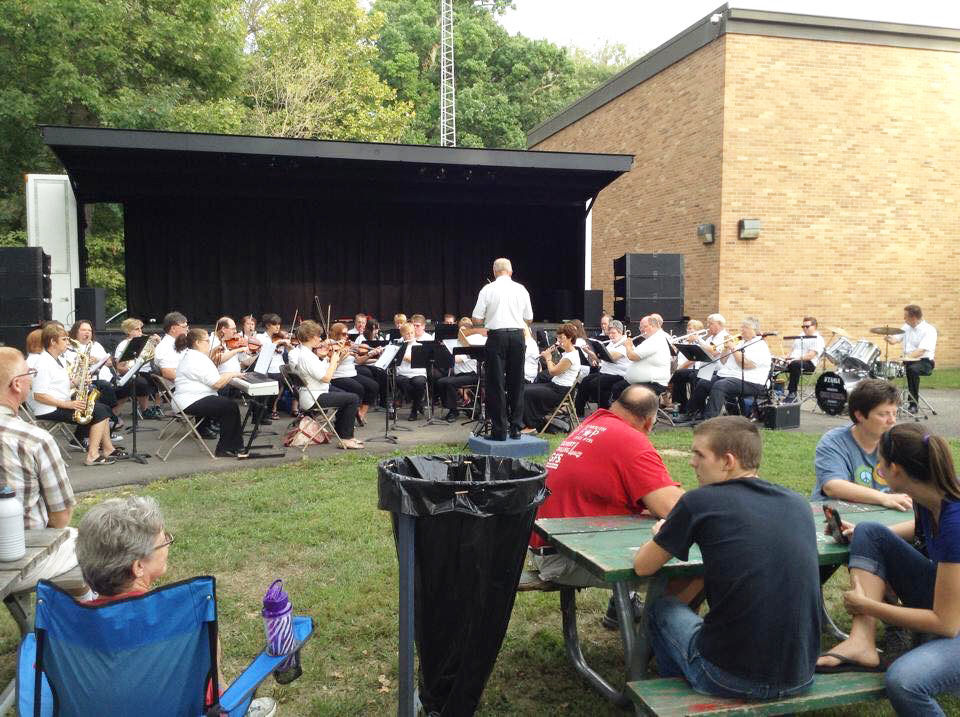Marshall County Church Orchestra performing