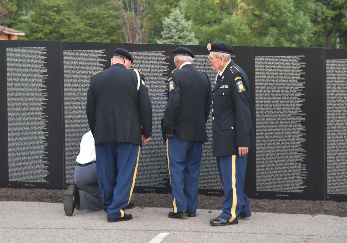 A group of veterans