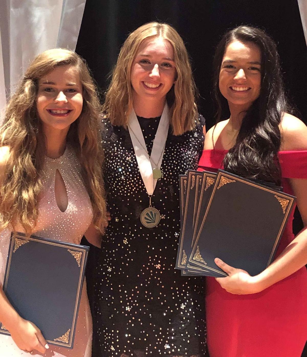 Jasmine Gramm, Riley Gilmer and McKenna Myers