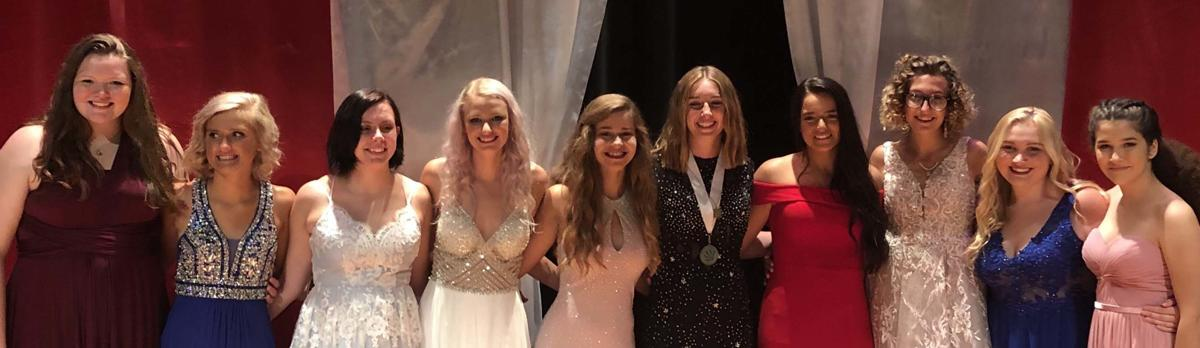 Bremen Distinguished Young Women group