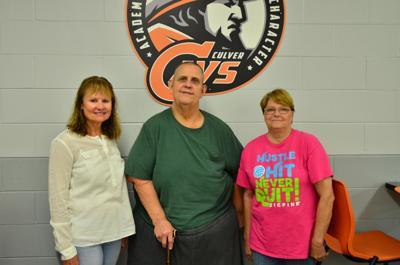 Kathy Hermanson, John Browder and Phyllis Napier