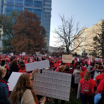 POLL RESULTS: Most in favor of schools closing for 'Red for Ed' Day