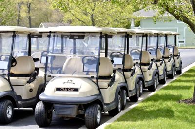 Row of carts