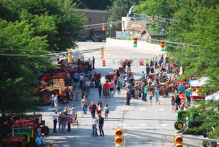 Downtown Tractor Show