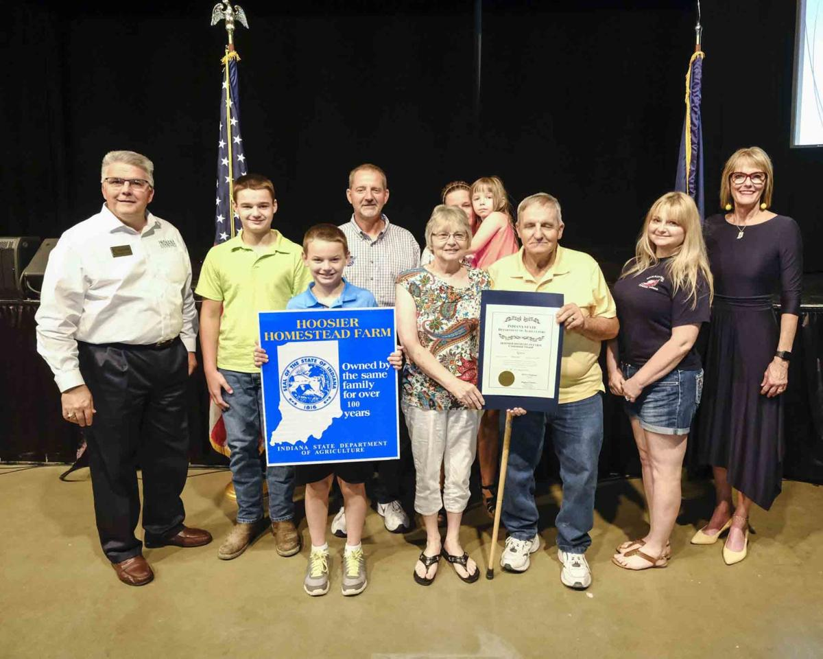 Local farms honored at Indiana State Fair | News