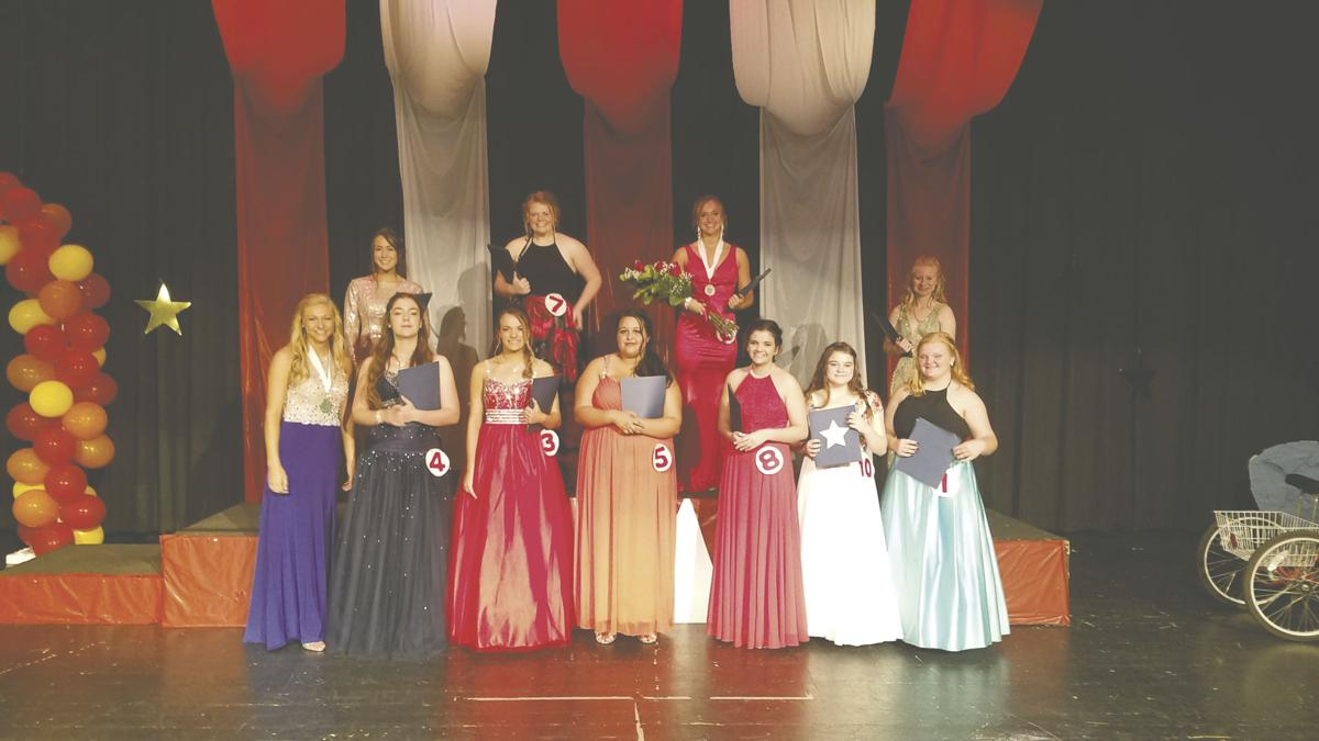 Triton's Distinguished Young Woman competition group