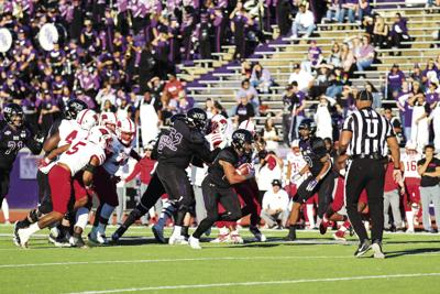 Lumberjacks to play Demons in 54th Battle for Chief Caddo