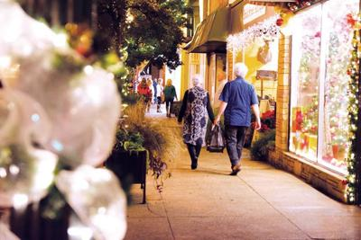Local businesses participate in shopping event
