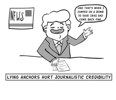 Reporter lies decrease trust in journalists | Opinion