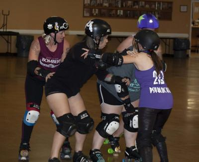 East Texas Bombers roller derby team provides competitive skating, welcomes new members