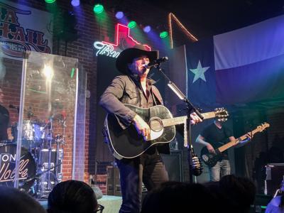 Jon Wolfe performs at Banita Creek Hall