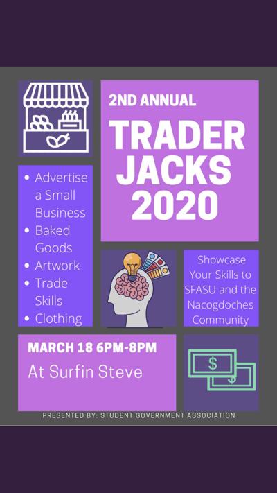 SGA prepares to host second annual Trader Jacks