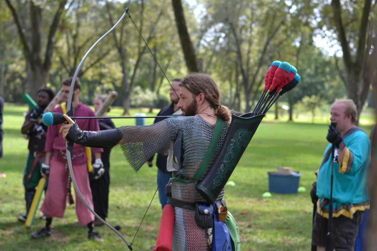 Community group hosts weekly Live Action Role Playing game in Pecan Park near campus