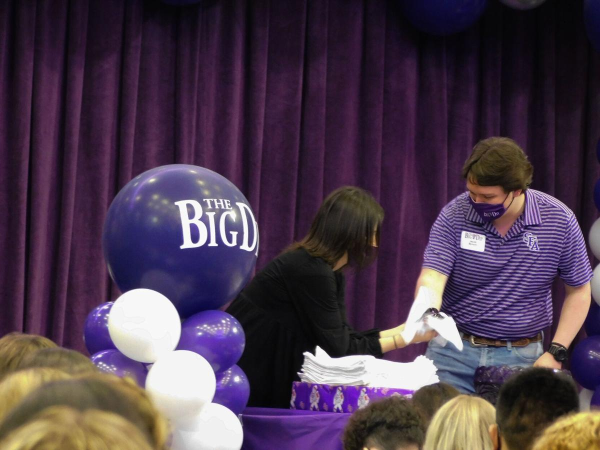Students participate in first in-person Ring Dip since COVID-19