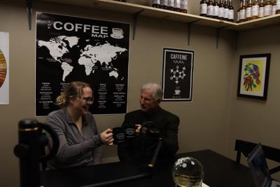 Nine Flags Coffee Roasters podcast talks coffee