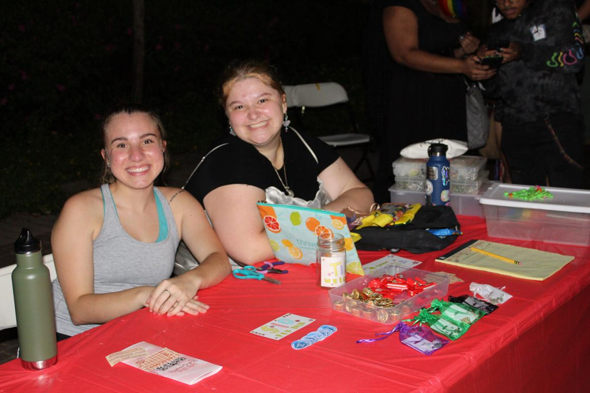 Pride Fest held in plaza to welcome students with games, contests