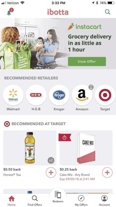 REVIEW: Editor earns $25 on app during a few months' grocery shopping