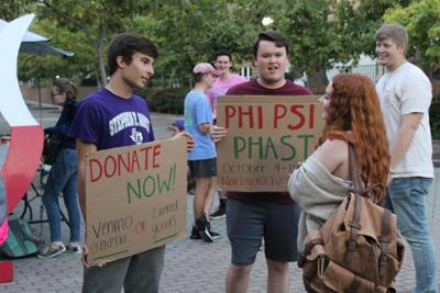 Fraternity fasts to raise awareness about hunger, poverty, breaks previously set donation record