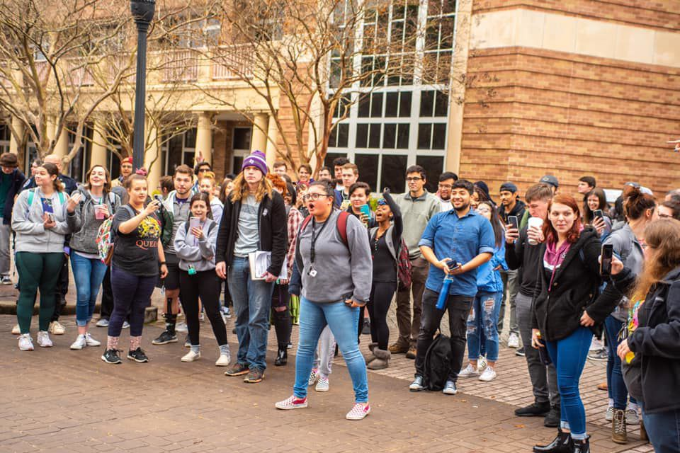 The Campus Ministry USA visits SFA