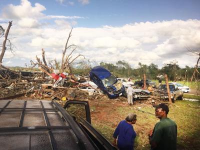 Tornado devastates Alto, Caddo Mounds