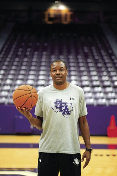 Assistant coach continues to inspire his team while in the midst of adversity