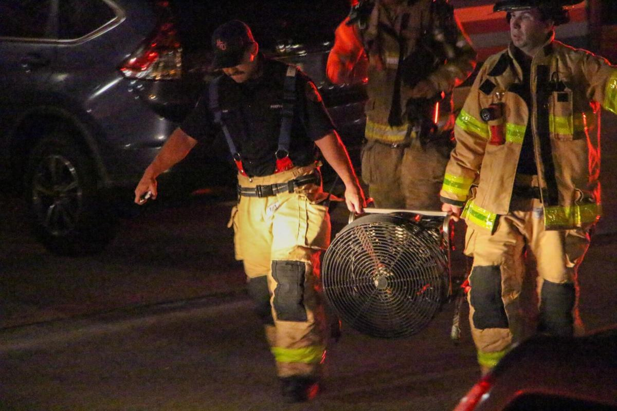 Fire department responds to small fire at the Californian apartments