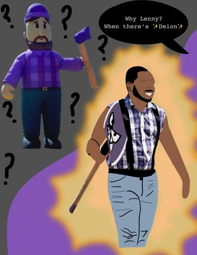 Axeceptance in question for Lenny the Lumberjack