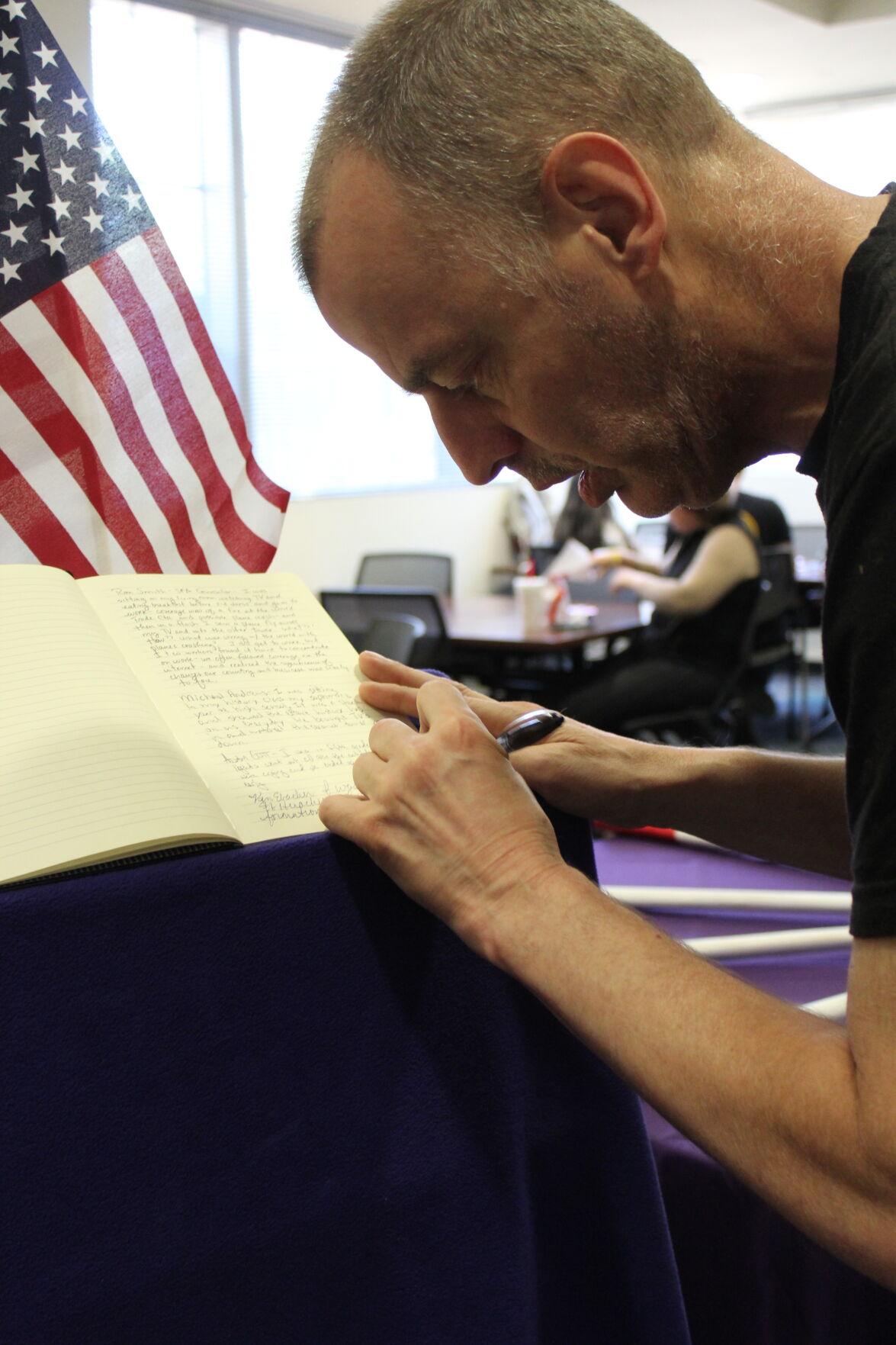Veterans Resources Center helps commemorate 9/11