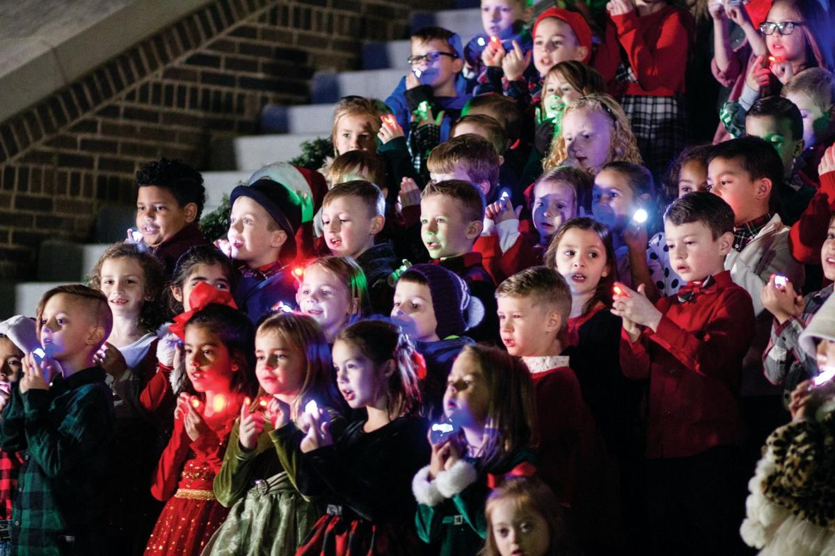 Holiday Extravaganza brings seasonal cheer to Baker Pattillo Student Center