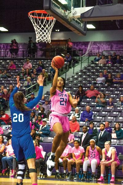 SFA basketball teams look to remain on top of Southland Conference standings