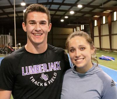 Pole vaulters jump to new heights