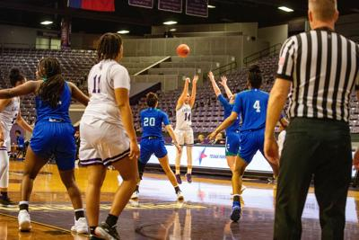 Ladyjacks point-guard Marissa Banfield scores third most 3-point field goals in SFA history
