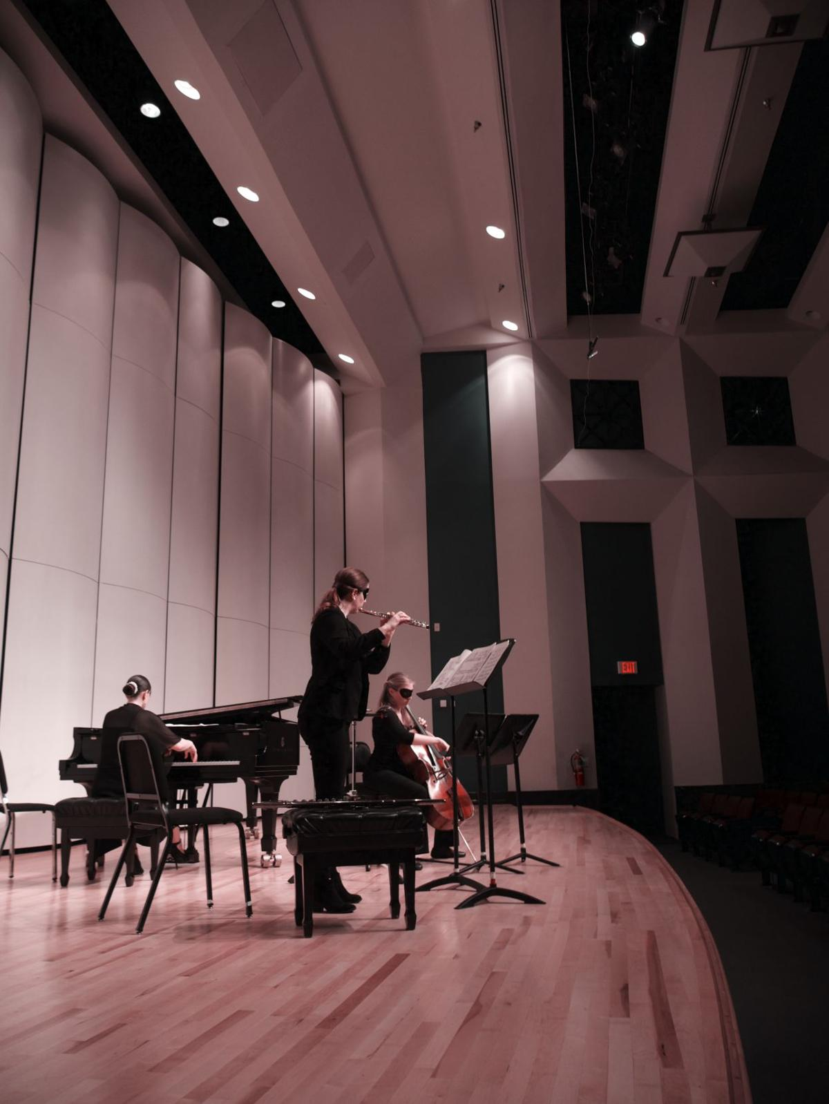 Guest artists perform trio recital in Cole Concert Hall
