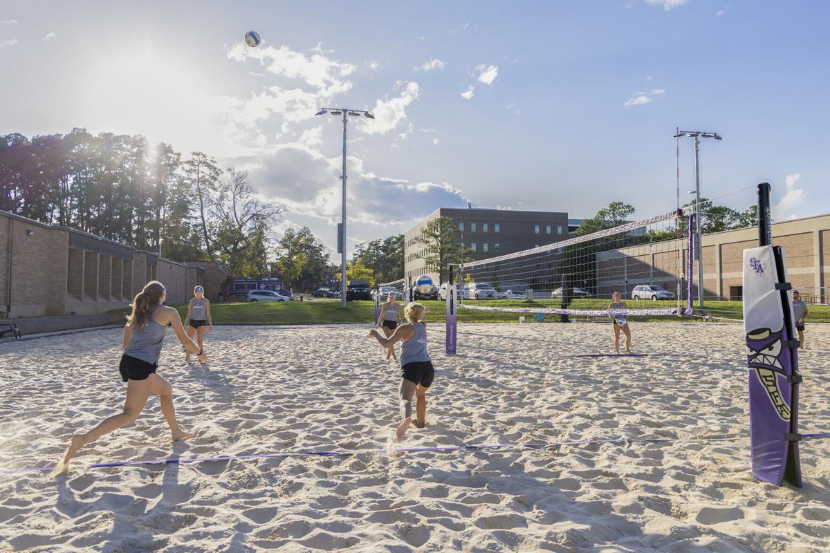 SFA Beach Volleyball team prepares for new season