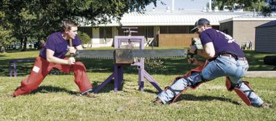 Award-winning timbersports team to host Lumberjack Games