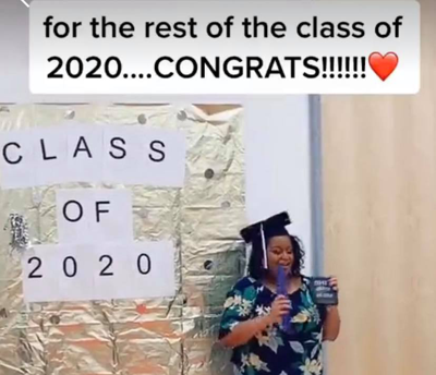 Feel Good Friday: A TikTok Graduation