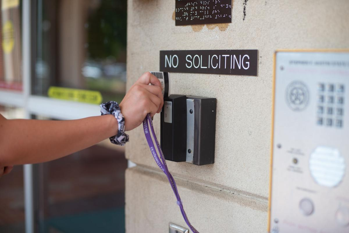 New policy keeps residence halls locked, requires student ID to gain entrance
