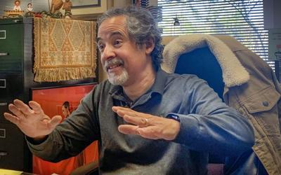 Singer, songwriter turned professor