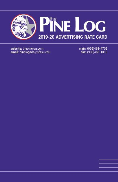Pine Log 2019-20 Rate Card Front