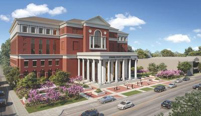 The proposed new Sumner County Courthouse is expected to be completed by early 2023.