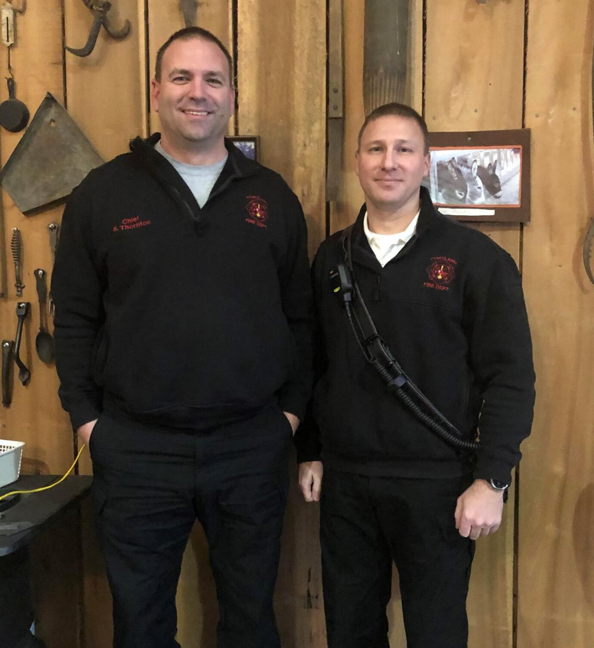 Tyson named assistant fire chief