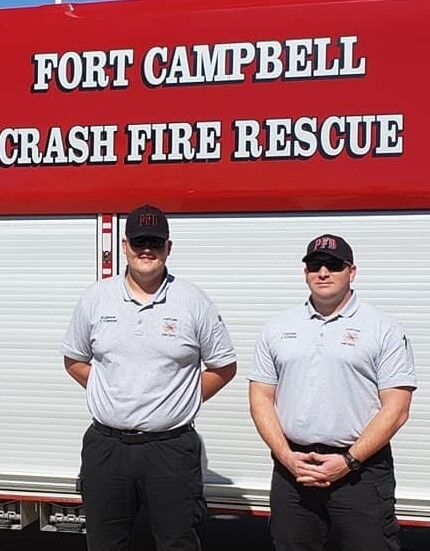 Conner, Trammell attend firefighter course at Fort Campbell