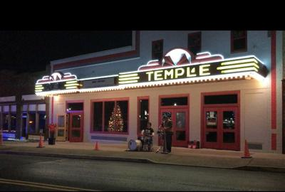Temple Theatre now complete