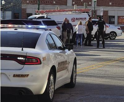 CCPD respond to report of man with gun in front of City Hall