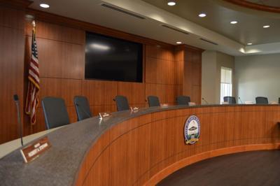 North Royalton council chambers