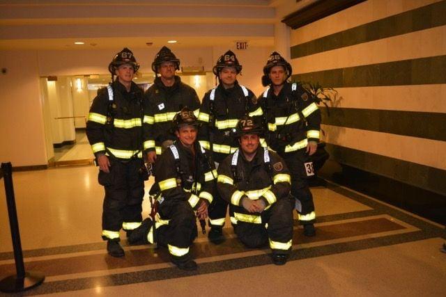 The firefighter team