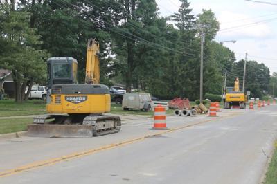Laurel Road construction