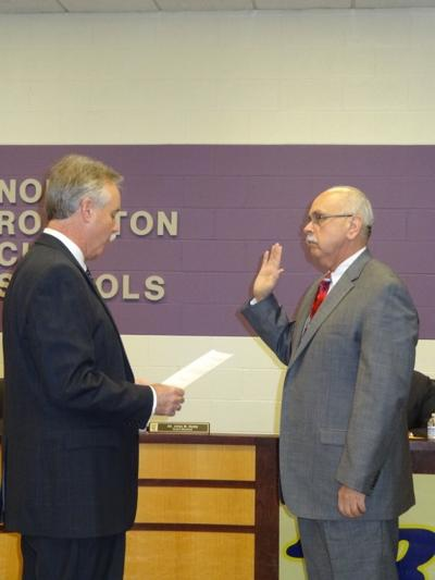 Kelly serves another term as school board president