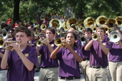 NRHS marching band